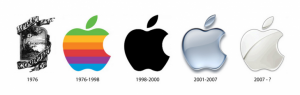Apple logotyp.